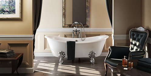 Double Ended Slipper Bath 1750mm x 720mm