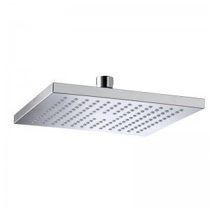200mm square chrome abs Shower Head