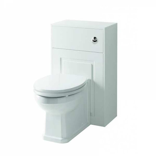 Astley 500mm White WC Unit Including Concealed Cistern