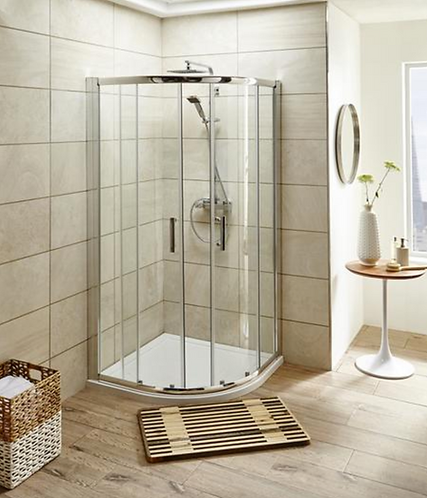 Kartel 800mm Quadrant Cubicle + Tray and Waste
