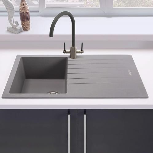 Ellsi Single Bowl Grey Comite Sink