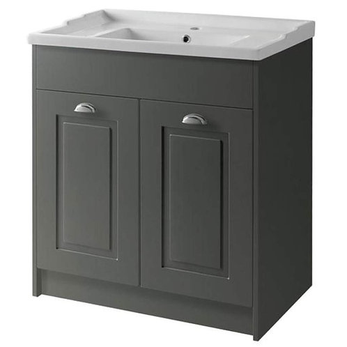 800mm Astley traditional unit basin