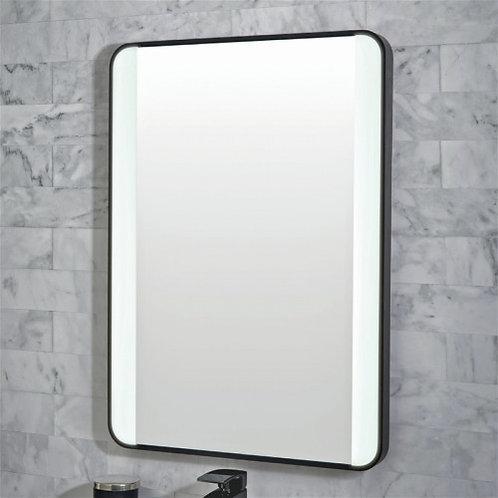 Mono Black Frame 700mm x 500mm LED Mirror