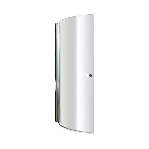 6mm P shaped Bath Shower Screen