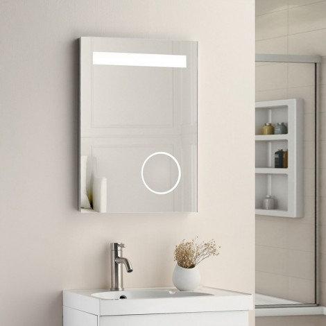 Carlisle MIR001 700mm x 500mm Magnifying LED Mirror