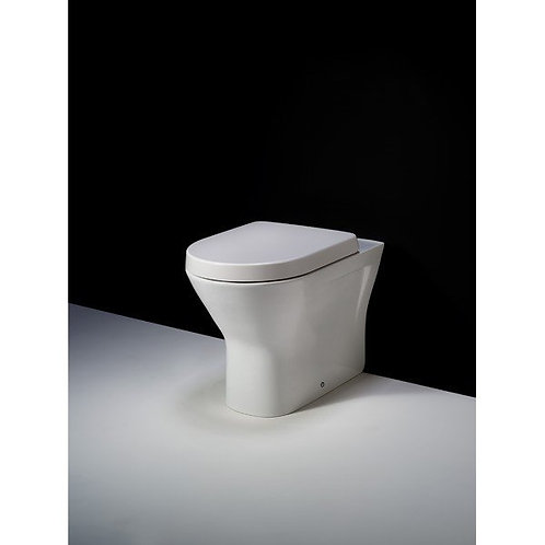 Rak Resort Rimless  Back To Wall Pan & Soft Close Seat
