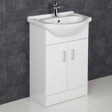 Ultra 550mm White Gloss Vanity & Basin