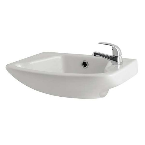 G4K 465mm 1TH Cloakroom Basin