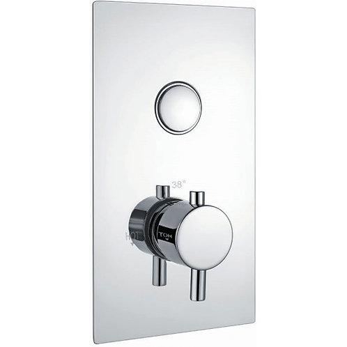 Harrison single round button valve