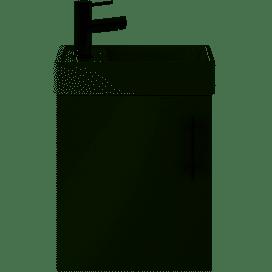 Vault Grey mist small minimalist wall unit and basin MIN016