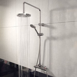 Lagos Echo Twin Thermostatic Shower
