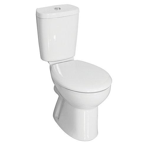 Fressh Georgia Close Coupled WC and Soft Close Seat