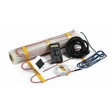 Digital Underfloor Heating Kit With Digital Screen in White or Black