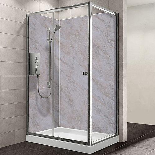 MB Beige Marble 1.2metre x 2.4metre Shower Board