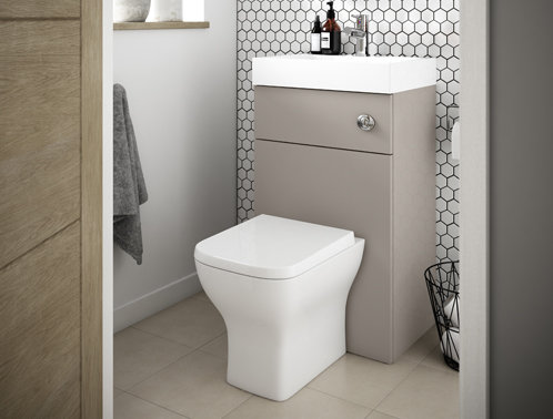 Complete 2 in 1 Basin, Unit & Toilet