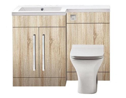 Lili Indigo Driftwood 1100mm Bathroom Furniture Pack
