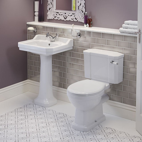 Harrogate Traditional Close Coupled WC