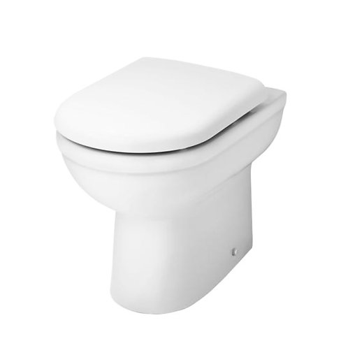 Lifestyle Comfort height Back to wall pan & heavy seat