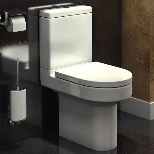 Ozone Rimless Compact Close Coupled WC