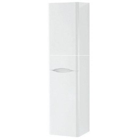 Cayo Gloss White 2 Door Wall Hung Storage Unit