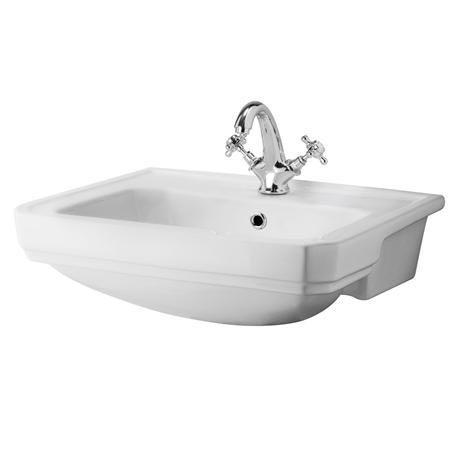 Richmond 1 or 2 tap Hole Semi Recessed Basin