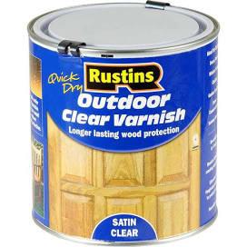 500ml Rustins Outdoor Varnish