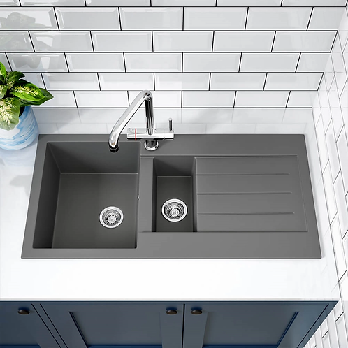 Ellsi 1.5 Bowl Grey Comite Sink