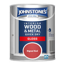 .75 litre Johnstones quick drying coloured gloss paint