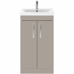 Athena Stone Grey 500mm basin & Unit