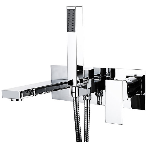 Element/Form Wall Mounted Bath Shower Mixer
