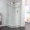 Thumbnail: Aquadart Venturi 6 Single Door Quadrant Cubicle With Clean and Clear Glass