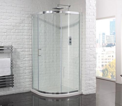 Aquadart Venturi 6 Single Door Quadrant Cubicle With Clean and Clear Glass