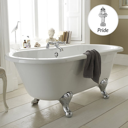 Kingsbury 1500 mm Traditional Freestanding Bath RL1501C2