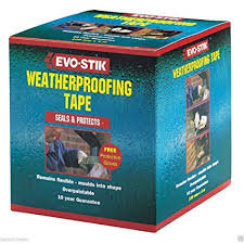50mm x 10m Evo-stik weatherproofing tape