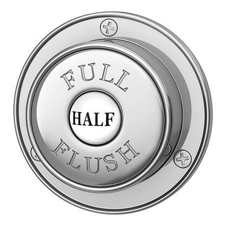 Hudson Reed Ultra Victorian Push Flush Button