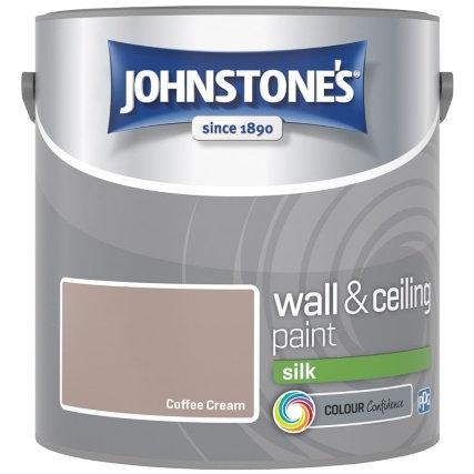 2.5 litres johnstone silk emulsion colours