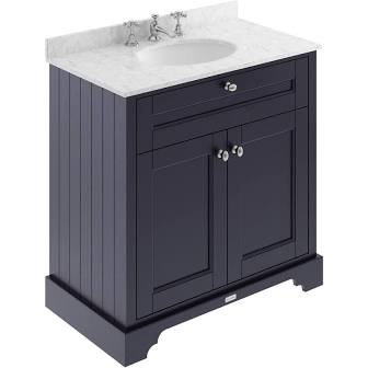 800mm Old London Unit Marble Top & Basin LOF332