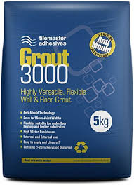 5kg Tile master Grout 3000 14 colours available