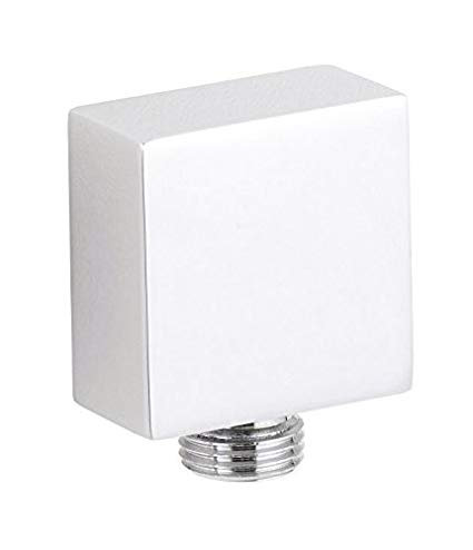 Chrome square Outlet Elbow