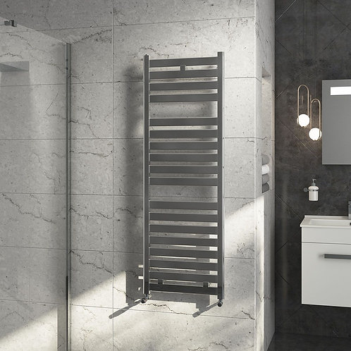 Connect 600mm Wide Chrome Towel Radiator