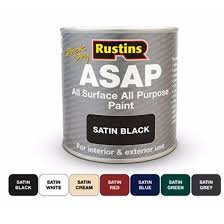 500ml Rustins ASAP any surface paint