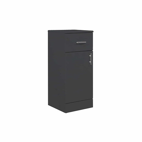 Lanza 350mm Gloss Anthracite Storage Unit