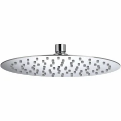 250mm Ultra Slim Polished Stainless Steel Head
