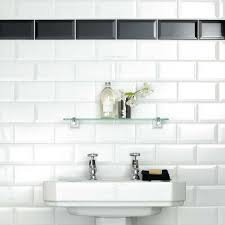 Metro gloss white tile