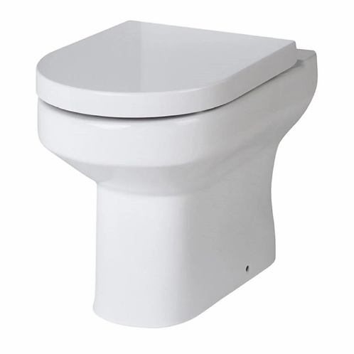 Harmony Back to wall pan and quality heavyweight soft close seat