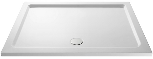 1400 x 800 Rectangle Shower Tray Inc Waste