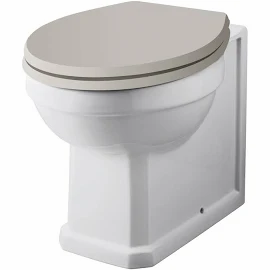 Richmond comfort height Traditional Back To Wall Pan Exc. Seat