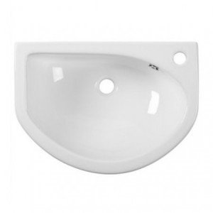 Minerva slimline semi recessed basin