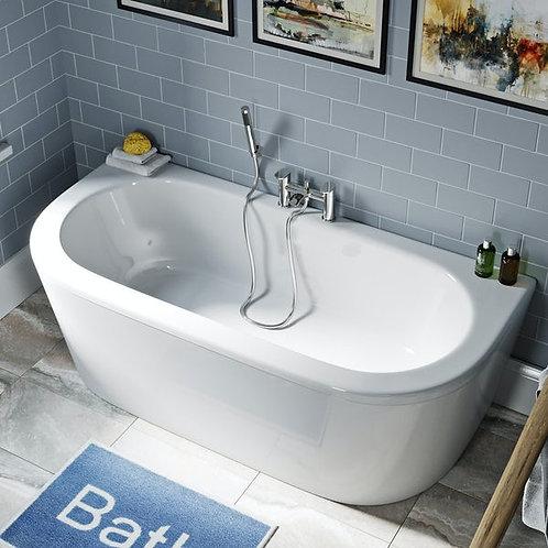 Shingle Bath Including Panel