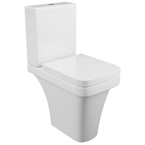 Rivelin Comfort Height Short Projection WC and Seat